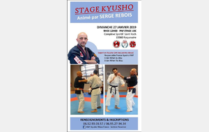 Stage Kyusho Roquevaire